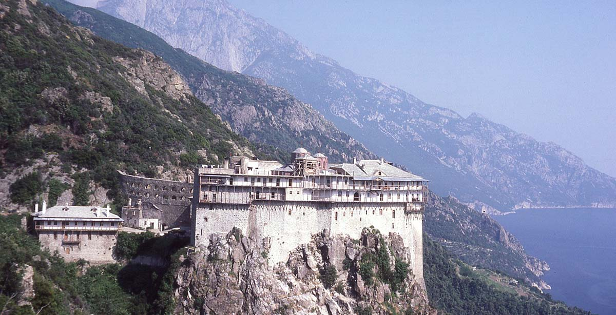 Simonopetra Monastery, Mount Athos, Greece