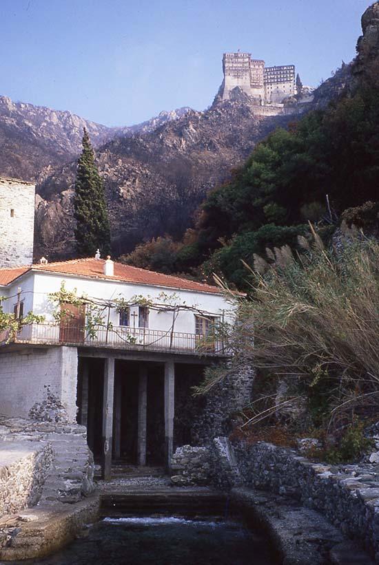 Simonopetra Monastery, Greece
